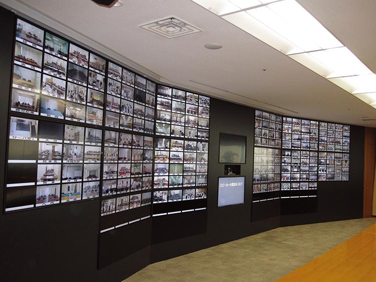 画像:大東建託様テレビ会議全拠点接続の様子
