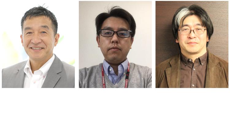 株式会社門永水産 松本社長、中原氏、鈴木氏近影