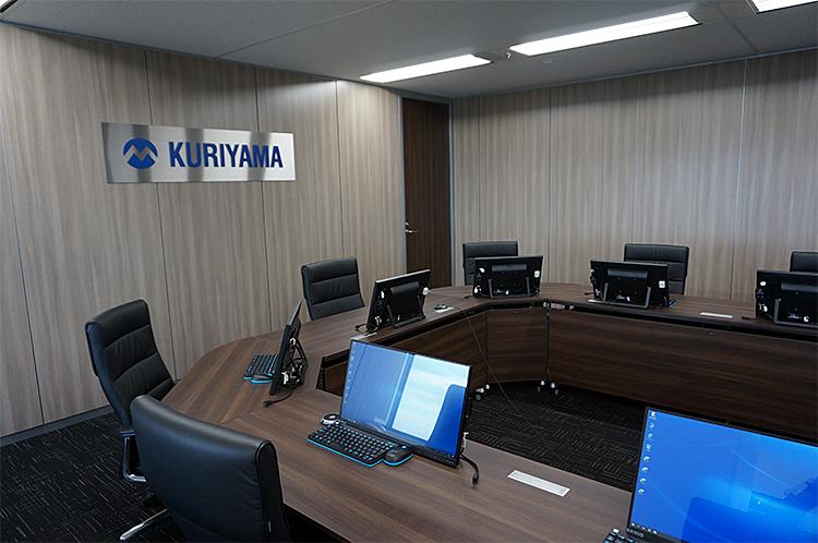 画像:クリヤマ様会議室の様子